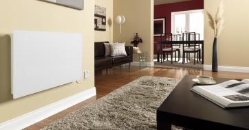 Girona electric panel heater - white